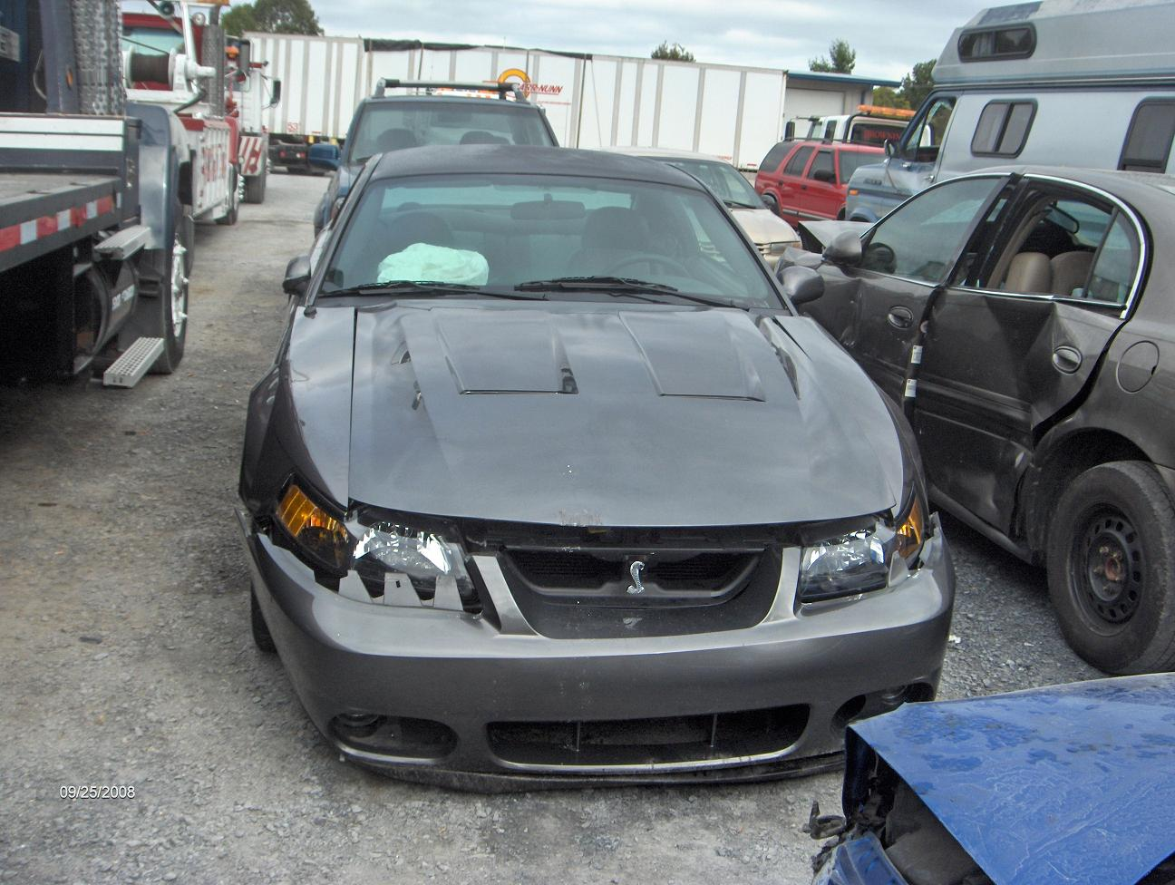 Wrecked 2003 Cobra for Sale Make offer | SVTPerformance.com